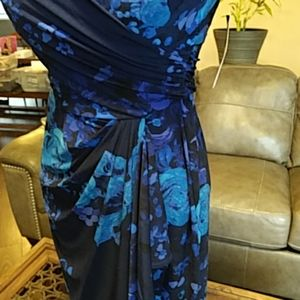 Chaps Dresses - Chaps floral dress size 4 from Macy's.  Size small